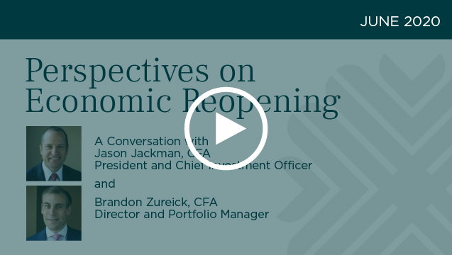 Perspectives on Economic Reopening