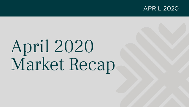 April 2020 Market Recap